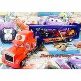 Mack Segonha E 03 Amigos Carreta Cegonha Caminhão Mack 60cm