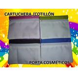 Cartuchera Cotillón Portacosmetico Para Sublimar 13x17