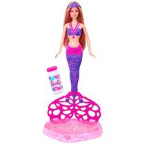 Barbie Sirena, Cola Burbujas Magicas, Mattel