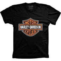 Camiseta Harley Davidson Motor Cycles - Camisa De Moto