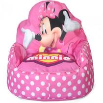 Sofa Silla Asiento Acolchado Niña Disney Minnie Mouse Nb
