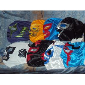 Lote De 20 Mascaras De Luchadores P/adulto Varios Modelos