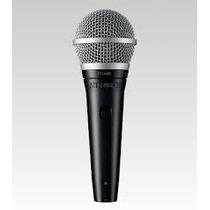 2 Microfonos Shure Pga48-xlr Microfono De Mano