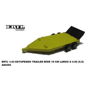 Ertl 1:43 Trailer Para Carga (10 Cmx4.5 Cm) Suelto Vikingo45
