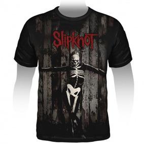 Camiseta Slipknot 5: The Gray Chapter (estampa Grande)