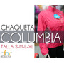 Chaqueta Deportiva Columbia De Dama - Fucsia (envio Gratis)