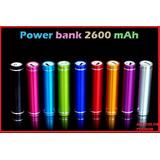 Cargador Portátil Power Bank 2600mah Tablets, Celulares