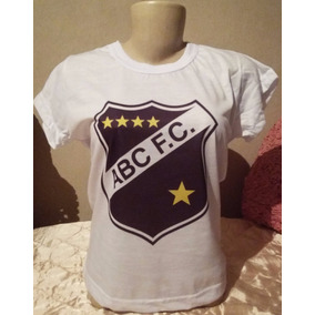 d63fdbc65c Camiseta Abc Futebol Clube Baby Look Feminina