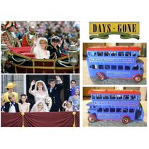 Lledo 1:43 London Bus Double Decker Casamientoreal Vikingo45