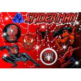 Cumpleaños Hombre Araña Spiderman Cotillon Candybar Editable