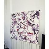 Cuadro Pintura Abstracta Triptico