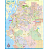 Mapa Gigante Município Cidade De Porto Alegre Capital Do Rs