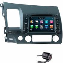 Kit Multimídia Honda Civic Voolt 2007 2008 2009 2010 2011