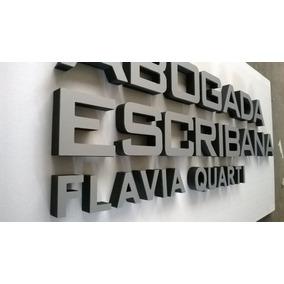 Letras Corporeas Con Frente De Aluminio Compuesto