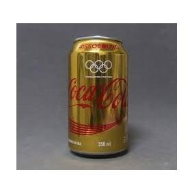 Coca -cola Lata Olimpíadas 2016 Lata De 350ml