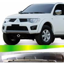 Spoiler Saia Parachoque L200 Triton 2011 2012 2013 2014