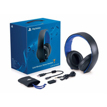 Auriculares Headset Gold Wireless Sony Ps4/ Ps3/ Vita