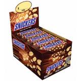 Chocolates Snickers 2 Display Caixa Com 20 Envio Hoje