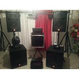 Alquiler De Sonido Profesional Jbl, Discplay, Luz Robotica