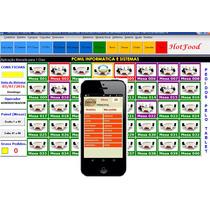 Sistema C/ Tablet Para Restaurante, Lanchonetes E Bares