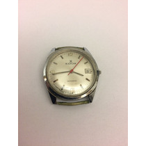 Relógio Edox Automatic Funcionando - Para Restauro Estético