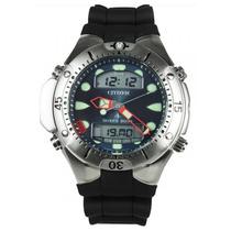 Relógio Citizen Aqualand Jp1060-01l Mergulho Profissional
