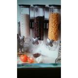 Dispensador De Cereales Empotrable Y D Mesa Y Chantillera