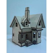 Modelo Casa Up, Hecho En Madera Mdf Rompecabezas 3d