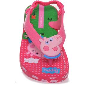 Chinelo Ipanema Peppa Ping Baby Numeração Atacado 9 Pares