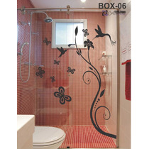 Adesivo Decorativo Para Box Banheiro Ratinho Ra Tim Bum