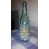 Antigua Botella Agua Mineral Matutina