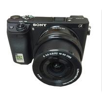 Sony A6300 +16-50mm 4k [ Nota Fiscal+ 1 Ano Garantia Brasil]