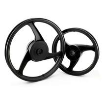 Roda Dianteira Liga Leve Modelo 3 Palitos - Biz 100, Fabreck