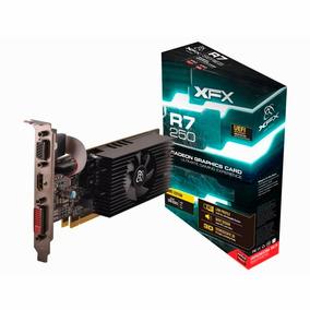 Placa De Vídeo Gamer Radeon R7 250e 2gb Ddr3 Low Profile Xfx