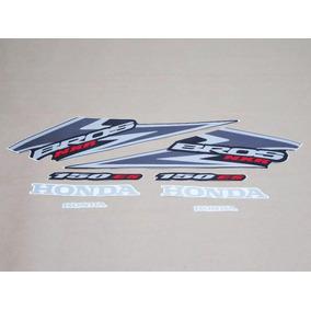 Kit Adesivos Honda Nxr 150 Bros Es 2006 Preta - Lb10014