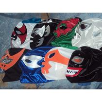 Wwe Cmll Aaa Mascara Lote De 10 Mascaras D Luchadores P/niño