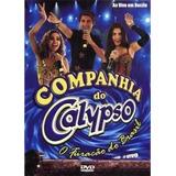 Companhia Do Calypso O Furacão Do Brasil Dvd Lacrado