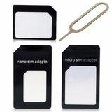 Adaptador Nano Chip Micro Chip Normal Lg G3 G4 Lumia Sony