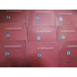 Revistas De Antropología En Ingles. Ethnology Journal.