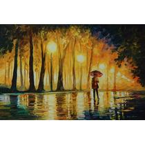 Pintura Al Óleo Bewitched Park Por Leonid Afremov