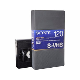 Sony Svhs S-vhs Mqst-120 Broadcast Videocassette Con Estuche