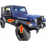 Burbujas Ampliaciones Reforzadas Rubicon Jeep Willys 4x4 4x2