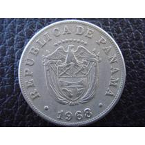 Panamá - Moneda De 5 Centésimos, Año 1968 - Muy Bueno