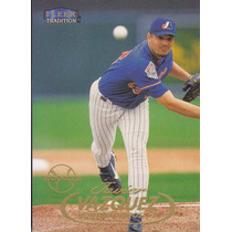 1998 Fleer Tradition Rookie Javier Vazquez P Expos