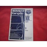 Renault Kangoo 1997 Manual Taller Reparaciones Chasis