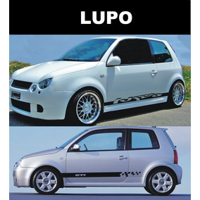 Sticker Vinil Tuning Lateral Decals Volswagen Lupo, Up Y Gti