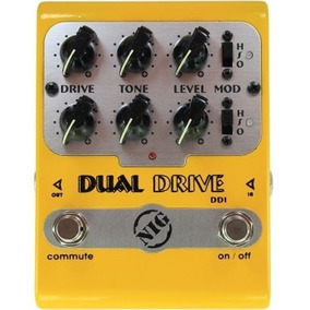 Pedal Nig Dual Drive | Dd1 | Overdrive | Para Guitarra