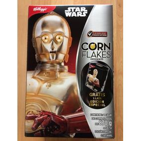 Star Wars The Force Awakens Cereal R2 D2 C3po Caja Lámina