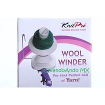 Devanadora Para Estambre Manual Knit Pro