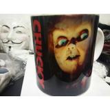 Taza Tasa Terror Chucky Cine Tv Coleccion Ceramica Cafe